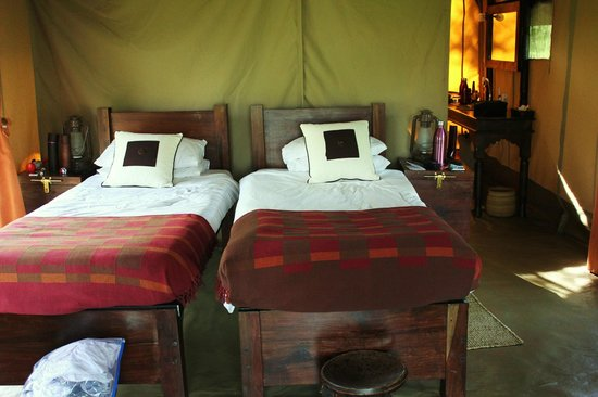 Dunia Camp, Asilia Africa:                   The bedroom