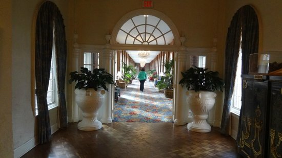 Washington Marriott Wardman Park:                   Nice Long hallway