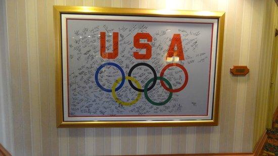 Washington Marriott Wardman Park :                   2000 Olympic Team