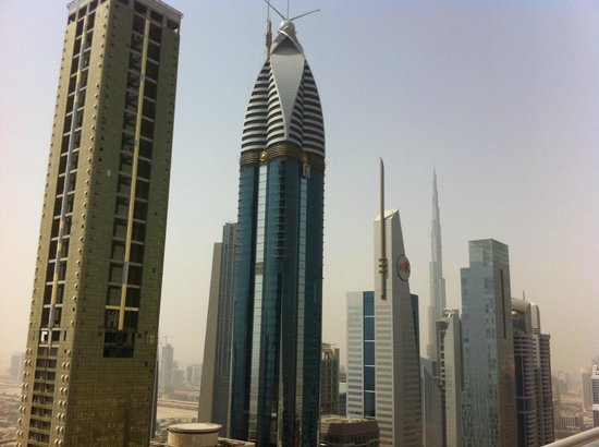 Four Points by Sheraton Sheikh Zayed Road, Dubai:                   Roof Area