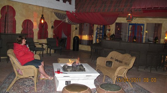 El Morocco Inn & Day Spa:                   perfect evening