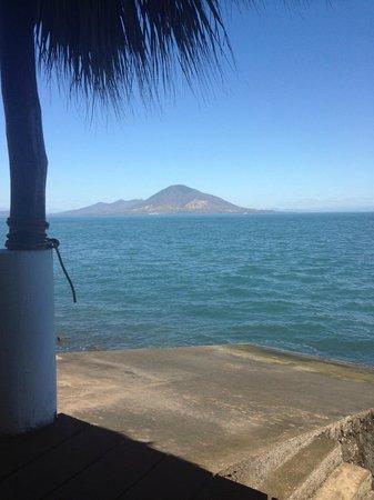 Hotel La Joya del Golfo:                   View of Honduras...or Nicaragua, one of the two.