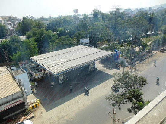 Hotel Ilapuram:                   View From Room