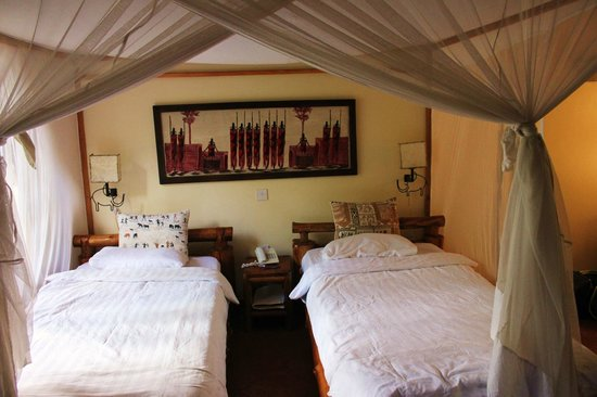Arumeru River Lodge: Our bedroom