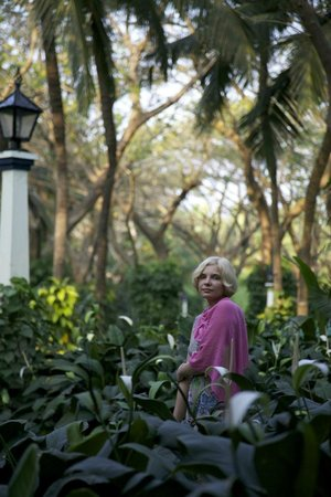 Taj Exotica Goa:                   сад