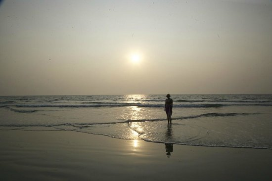 Taj Exotica Resort & Spa Goa:                   пляж
