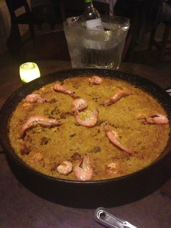 Eco Venao:                   Their famous paella, it was good. But I'd skip it next time.