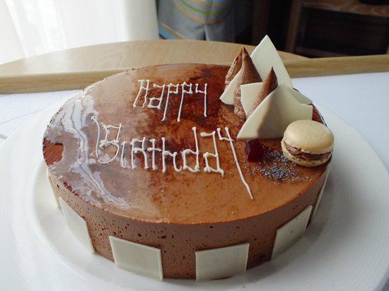 The Westin Dragonara Resort, Malta:                   my surprise birthday cake