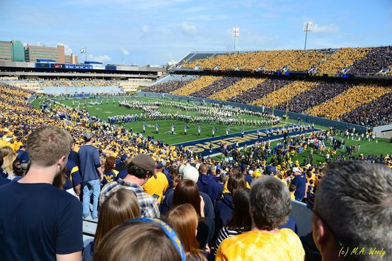 Mountaineer Field:                   1st Big XII Game with Baylor Sept. 2012