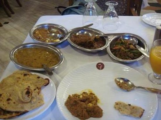 Hotel Vaibhav:                   lunch