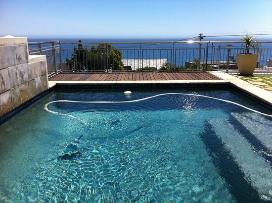 3 On Camps Bay Boutique Hotel:                   The Pool and view