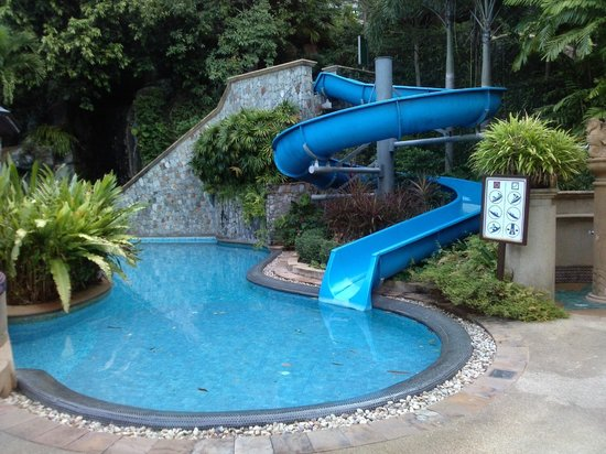 Diamond Cliff Resort and Spa:                   Water Slide Main Pool