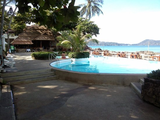 Diamond Cliff Resort and Spa:                   Ocean front Pool