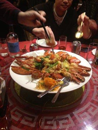 Phoenix Palace:                   Lobster dish