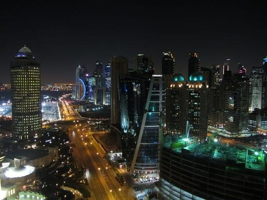 Hilton Doha: view from 2402