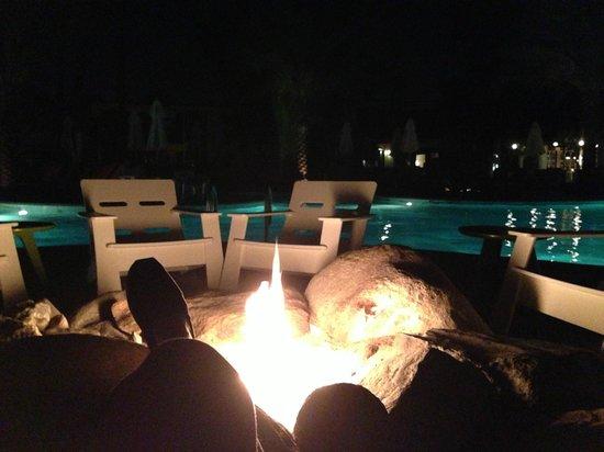 Desert Riviera Hotel:                                                       Bonfire                                 