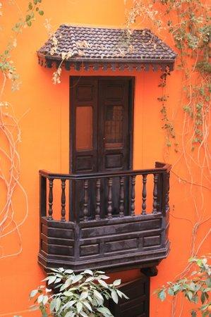 Riad Hermes: Chambre avec balcon donnant sur patio