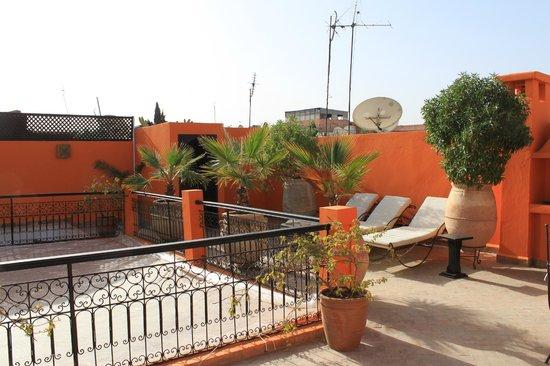 Riad Hermes: La terrasse