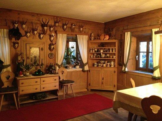Hotel Garni Snaltnerhof:                   Breakfast area