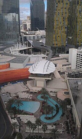 Park MGM Las Vegas :                   City Center 4 from my room