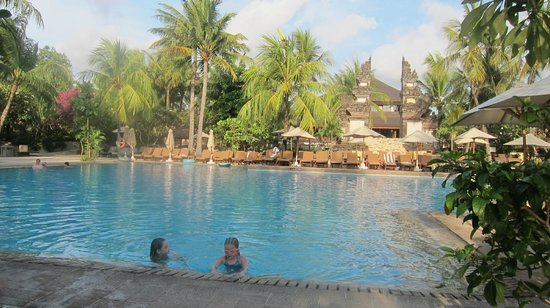 Padma Resort Legian:                   The main pool