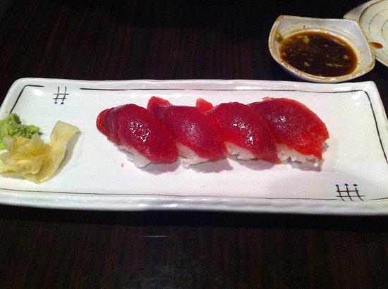 Nori Japanese Restaurant:                                                       Good food sashimi ahi tuna. Best ever
