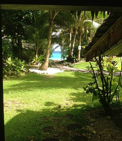 Paradise Cove Resort:                   View from our bungalow