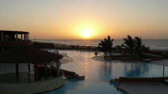 Royal Decameron Boa Vista:                   coucher de soleil