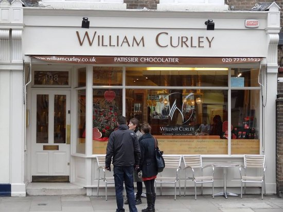 Chocolate Ecstasy Tours: William Curley chocolates shop