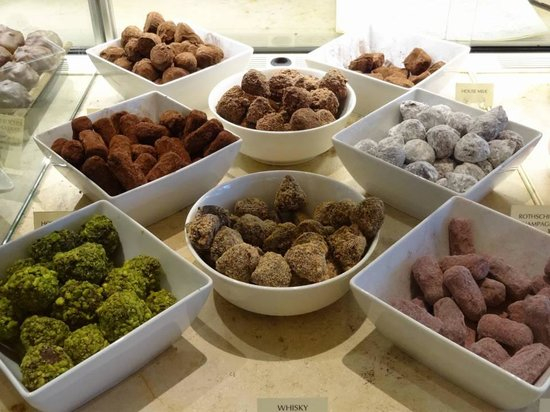 Chocolate Ecstasy Tours: William Curley chocolates