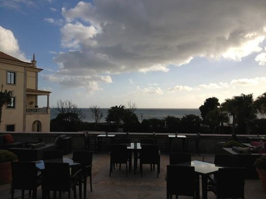 Grande Real Villa Italia Hotel & Spa:                   view in winter