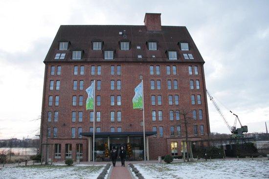 Hotel Speicher am Ziegelsee: Außenansicht