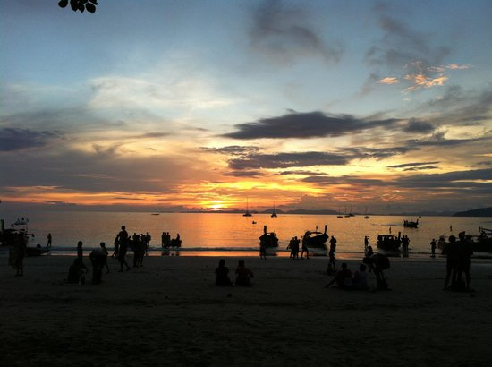 Railay Bay Resort & Spa:                   Sunset