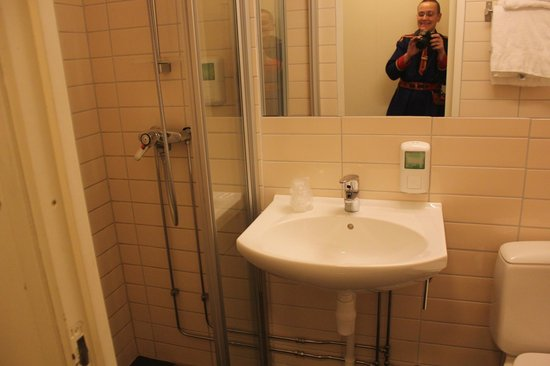 Gardermoen Airport Hotel:                   Bathroom with a shower