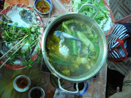 Loc Chau :                   Hot pot