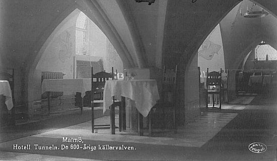 Mayfair Hotel Tunneln: Breakfast room, year 1920
