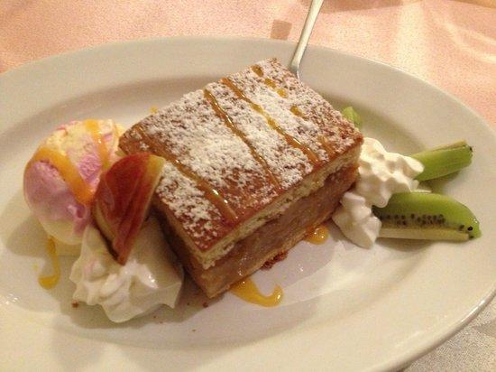 Hotel Bengol: Torta di mele