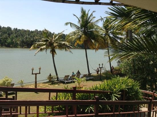 Fragrant Nature Backwater Resort & Ayurveda Spa:                   view from our balconyu