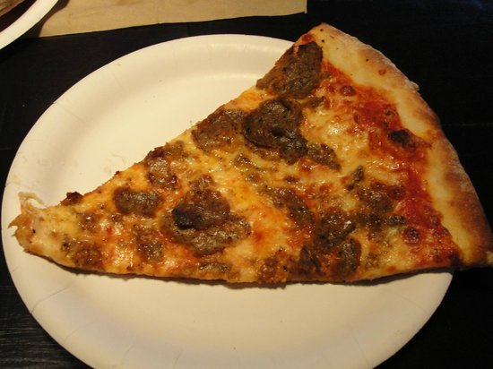 Sal's Authentic New York Pizza:                   House-made meatball pizza