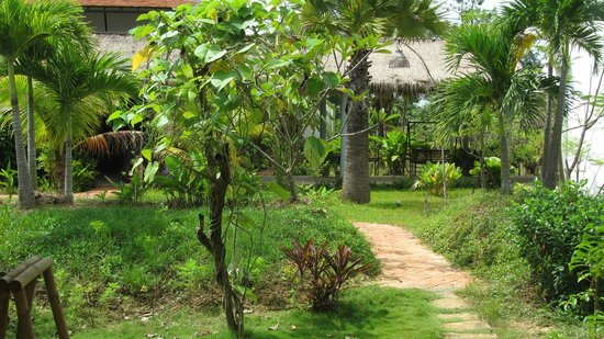 Battambang Resort: garden