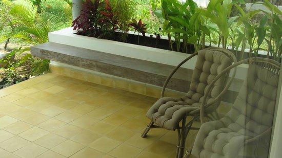Battambang Resort: terrace