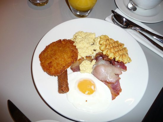 Pullman London St Pancras:                   breakfast
