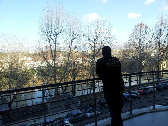 Lungotevere Suite: View from our balcony