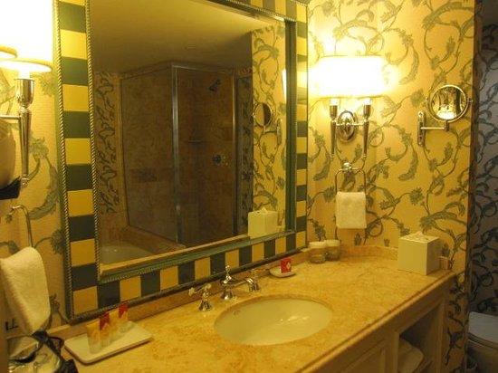 Paris Las Vegas:                   バスルーム