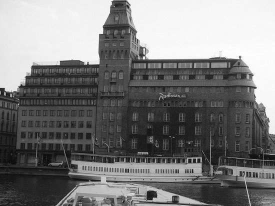 Radisson Collection Strand Hotel, Stockholm:                   Hotel's frontage