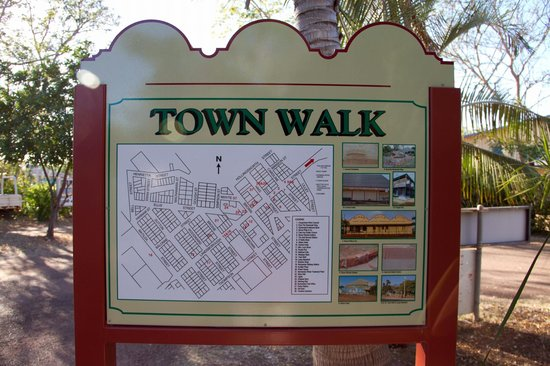 Normanton Tourist Park:                   A map of the town