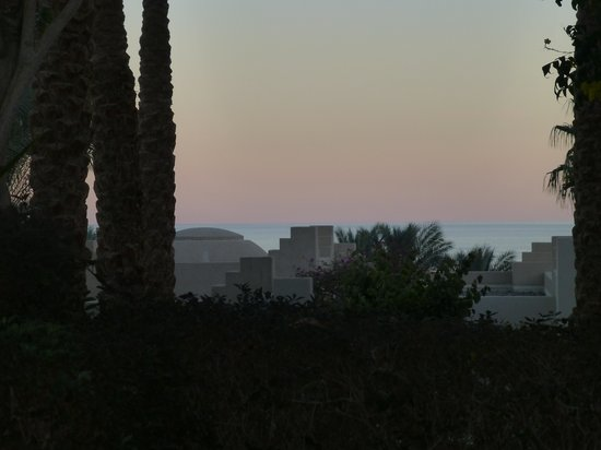 Four Seasons Resort Sharm El Sheikh:                   SUNSET FROM ROOM