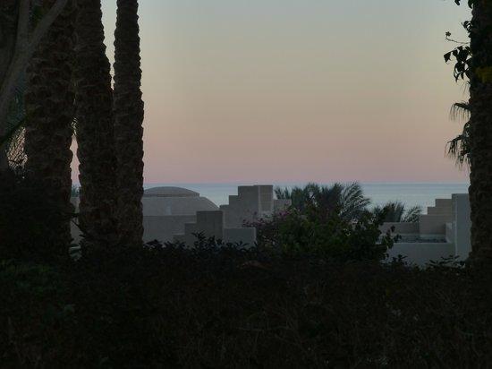 Four Seasons Resort Sharm El Sheikh :                   SUNSET FROM ROOM