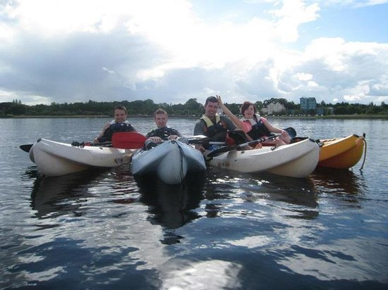 Baysports - Hodson Bay Boat Training and Watersports Centre:                   great laugh
