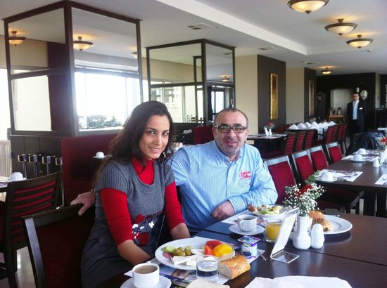 Hotel Beyaz Saray:                                     breakfast in barcelo saray
